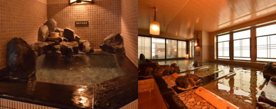 水風呂・寝湯(男性大浴場のみ)