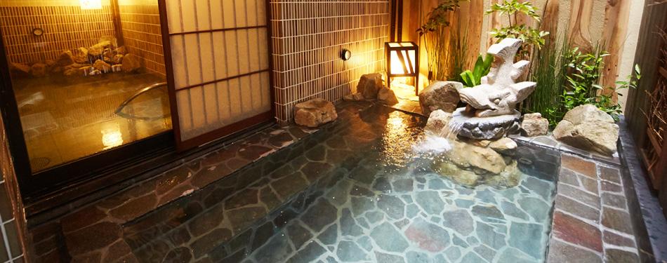 天然温泉大浴場 錦鯱の湯