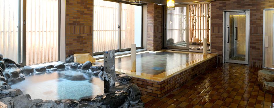 天然温泉「灯の湯」(2F)