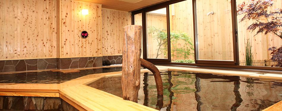 男女別大浴場「石狩の湯」