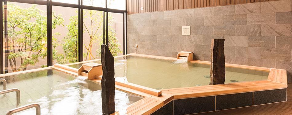 天然温泉「海神の湯」