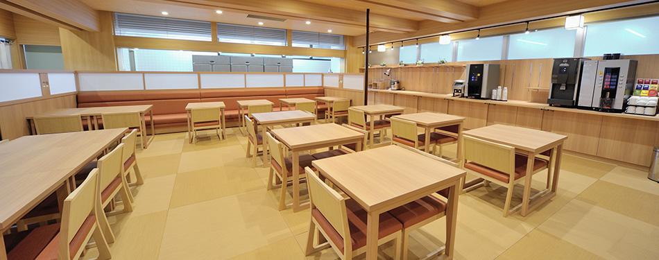 1F 食事処 港町食堂「海つばき」